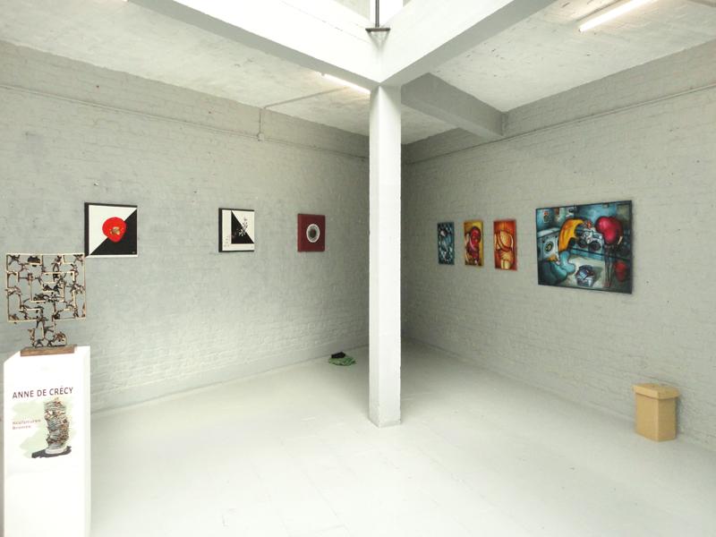 Exposition à la Galerie Croissant à Bruxelles en Belgique