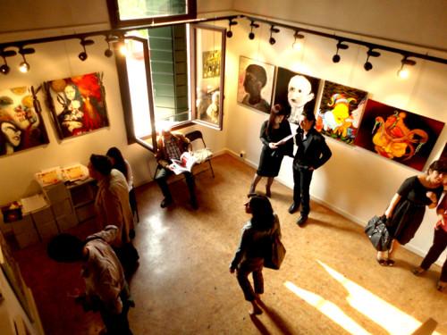 Exposition à la Prebienale de Venise