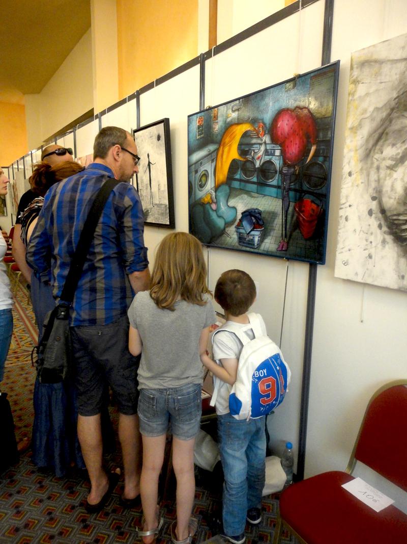 Exposition au festival du Touquet Prix Alain Godon