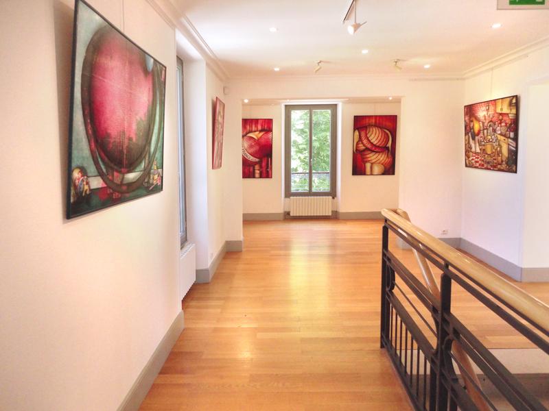Exposition au Château des Tourelles