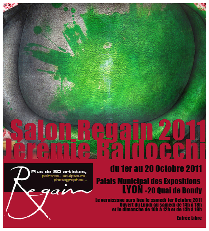 Salon Regain de peinture contemporaine à Lyon