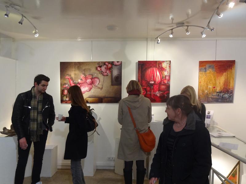 Salon de Printemps à la Galerie Thuillier