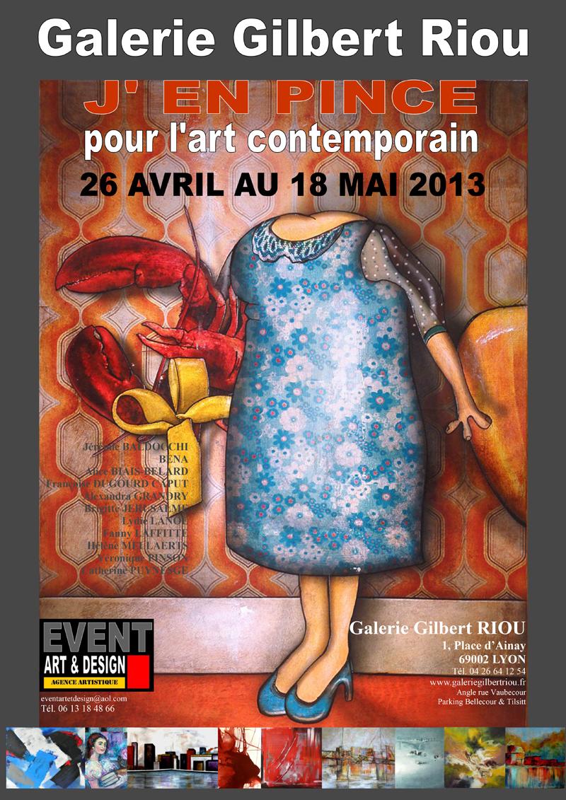 Exposition à la Galerie Gilbert Riou à Lyon