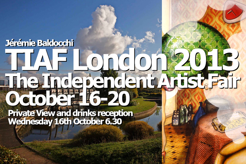 Exposition auSalon The Independent Artist Fair de Londres