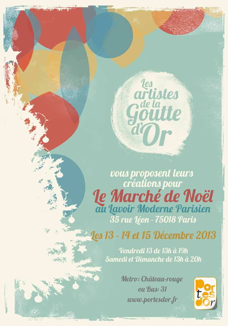 Exposition Vente de petits formats au Lavoir Moderne Parisien