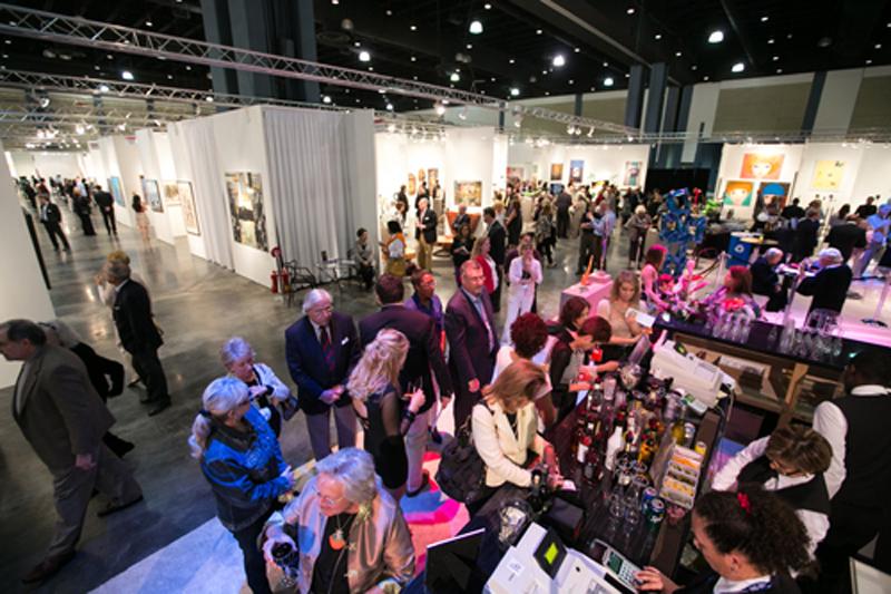 Exposition à Artpalmbeach à Miami