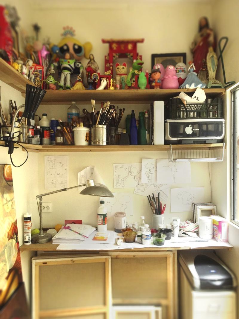 Portes ouvertes de mon atelier 2014
