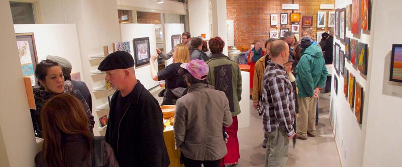 Exposition à la Galerie A/NT à Seattle