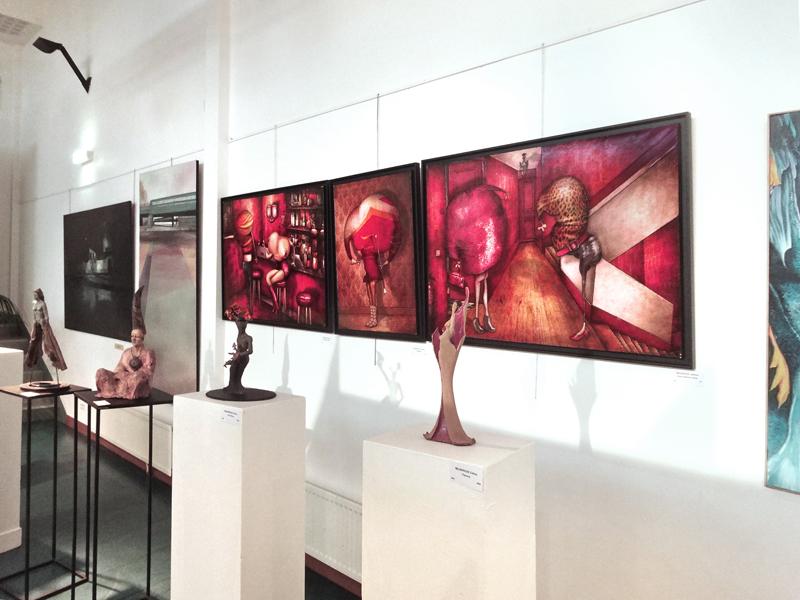 Exposition au Salon ADAC à Châtillon