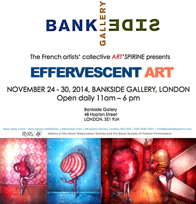 Exposition à la Bankside Gallery de Londres