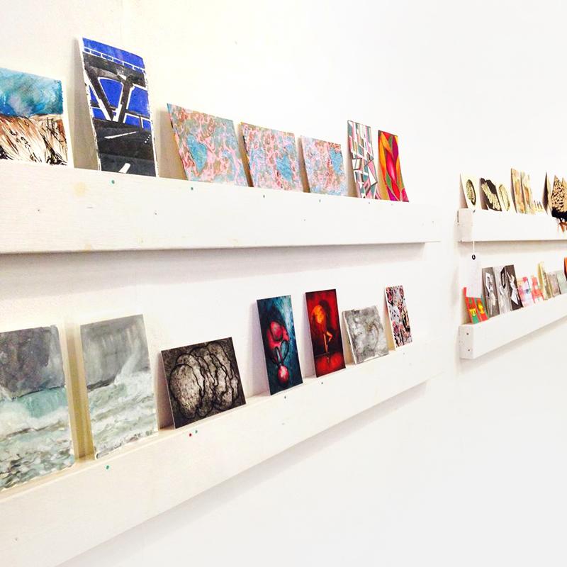 Exposition à la Galerie Surface à Nottingham en Angleterre