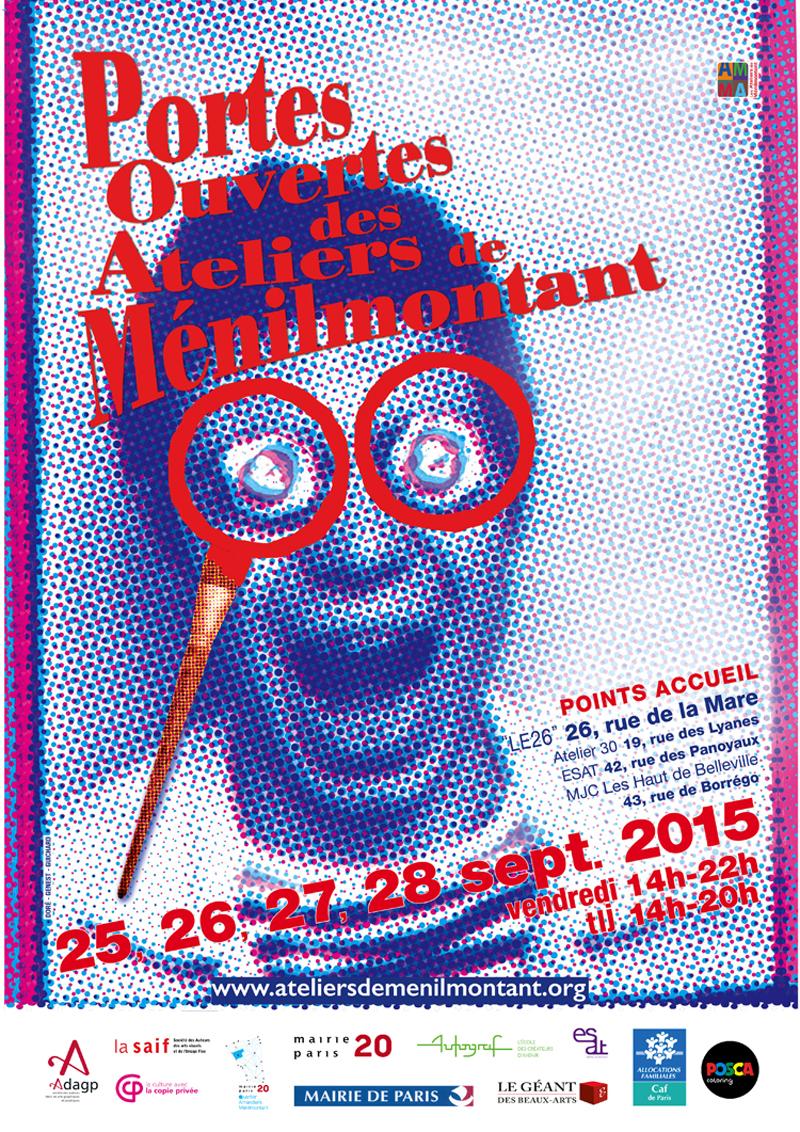 Exposition collective avec les artistes de Ménilmontant