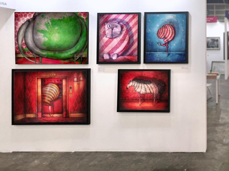 Exposition: Foire Affordable Art Fair – Hong-Kong – Chine