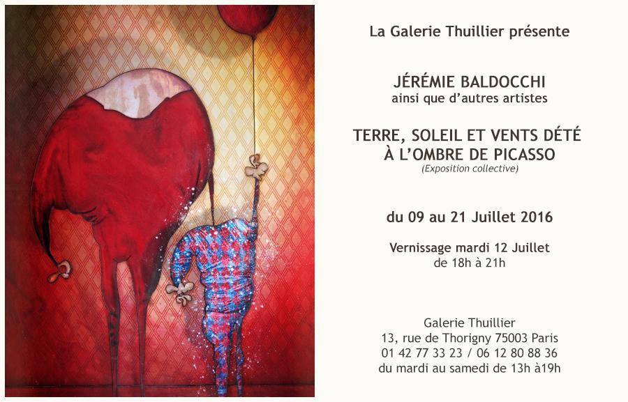 Exposition à la Galerie Thuillier à Paris À la manière de Picasso