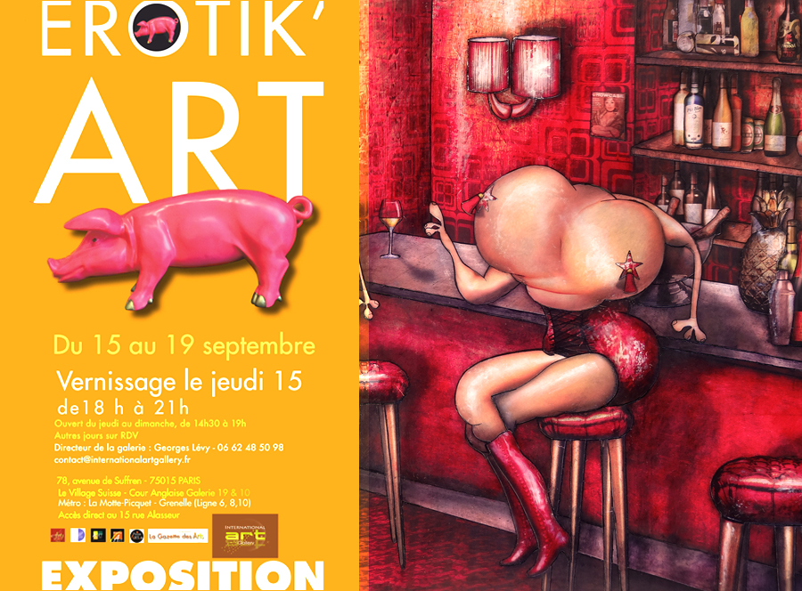 Erotik'Art - International Art Gallery