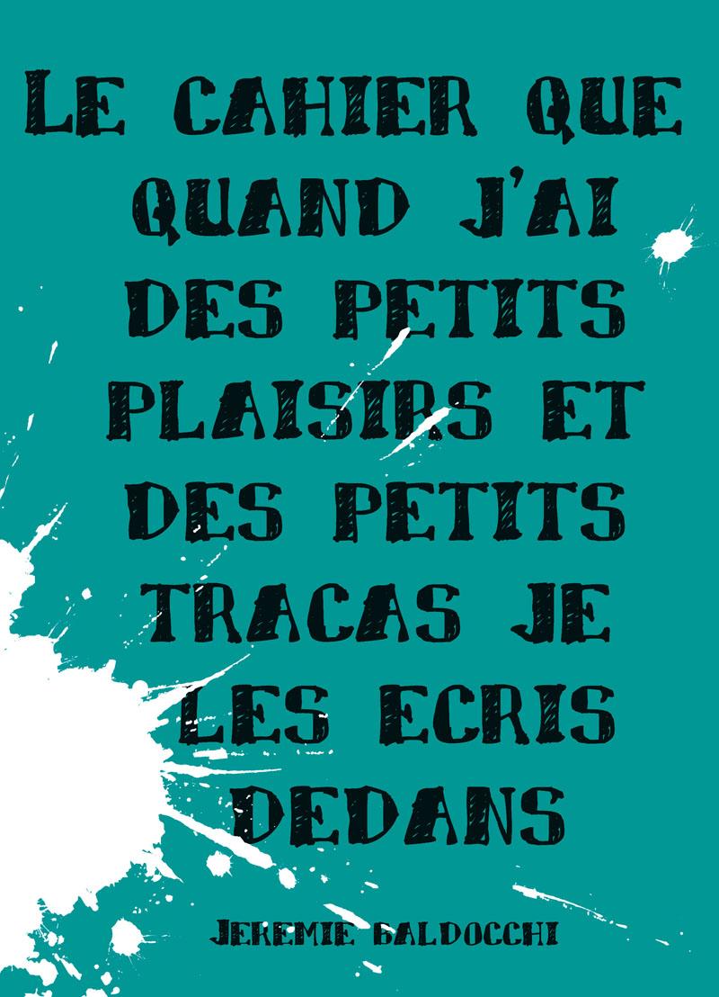 Choix de la couverture du livre de l'artiste peintre contemporain Jérémie Baldocchi