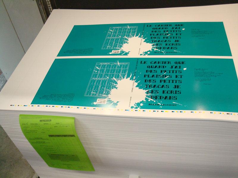 Visite chez l'imprimeur pour mon livre de peinture