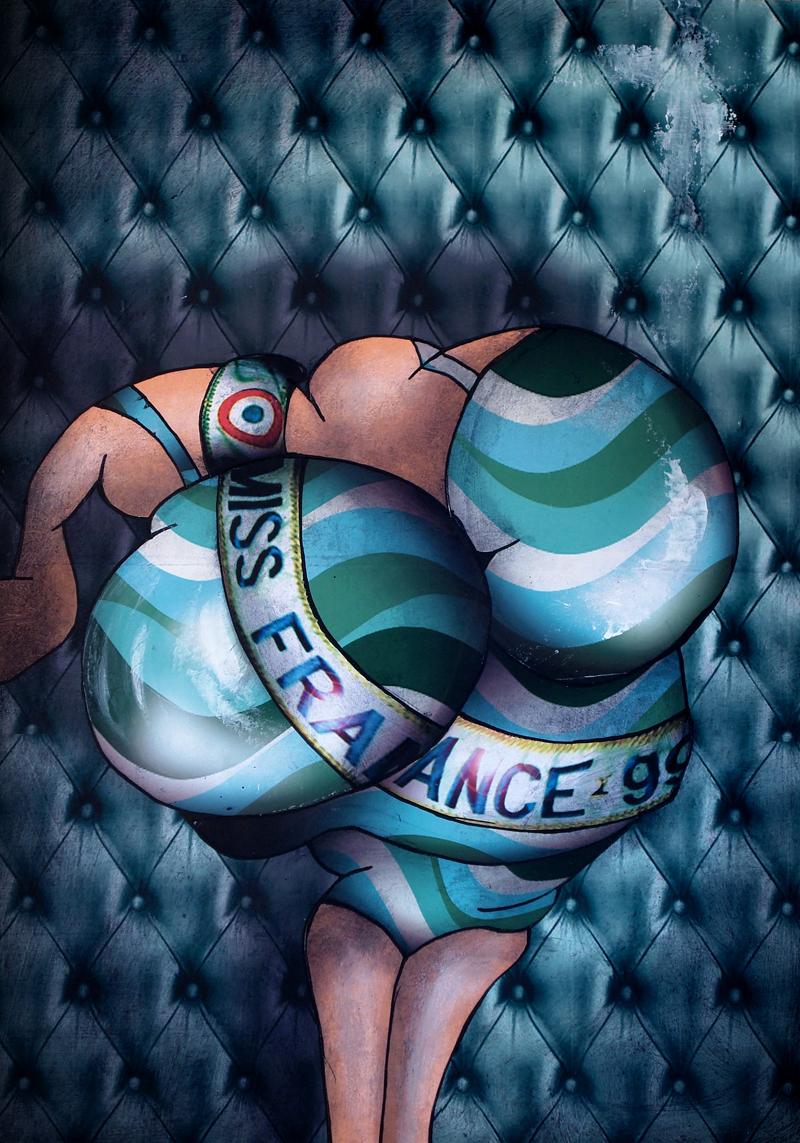 Peinture Miss France