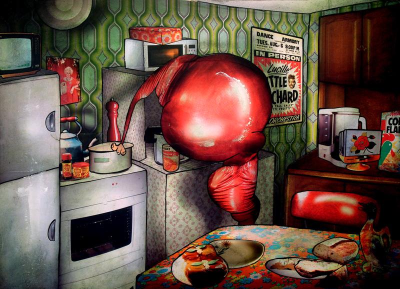 Peinture Vinyl dans la cuisine