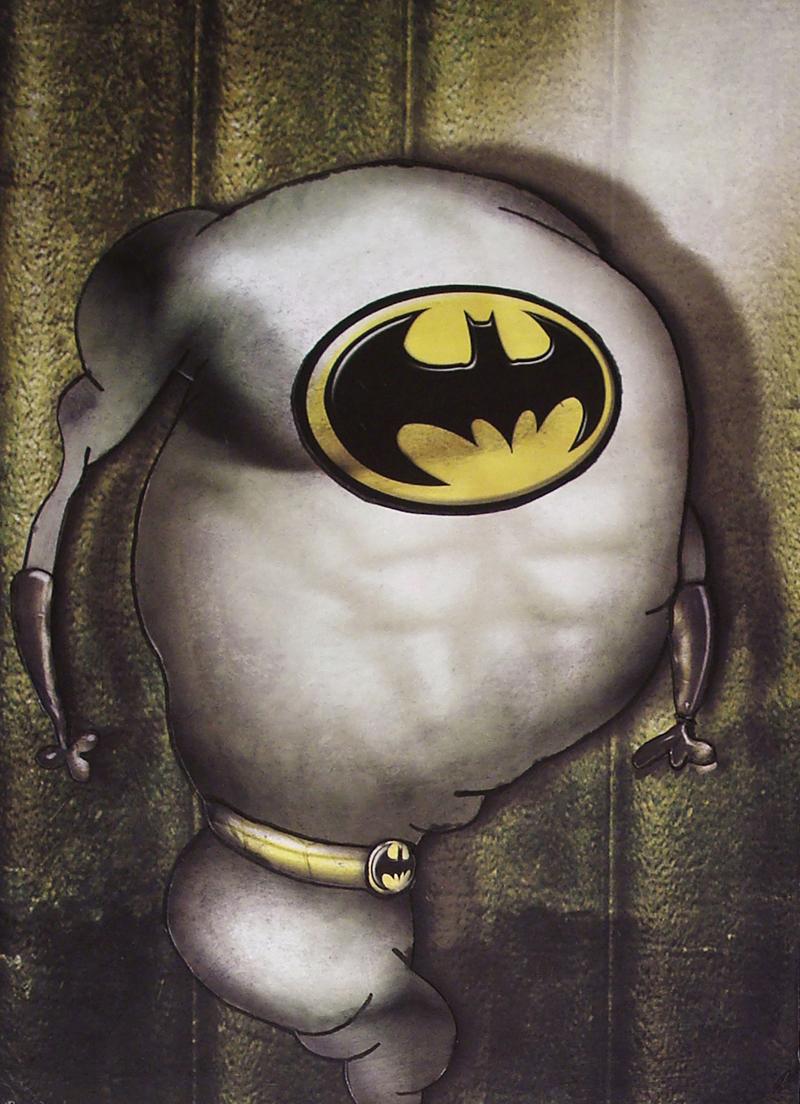 Peinture Batman