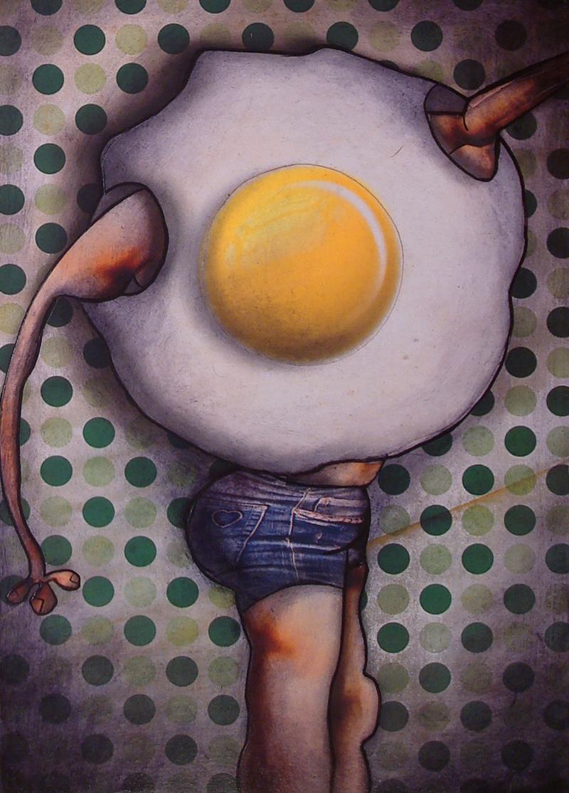 Peinture Monsieur Oeuf