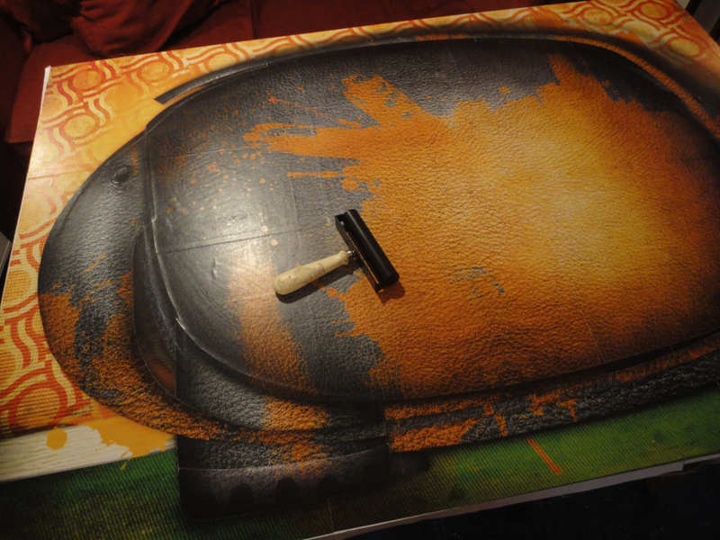 Mise en couleur de la peinture Elephant peint