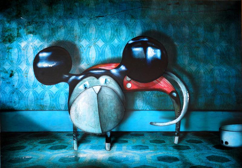 Peinture Chat déguisé 2010