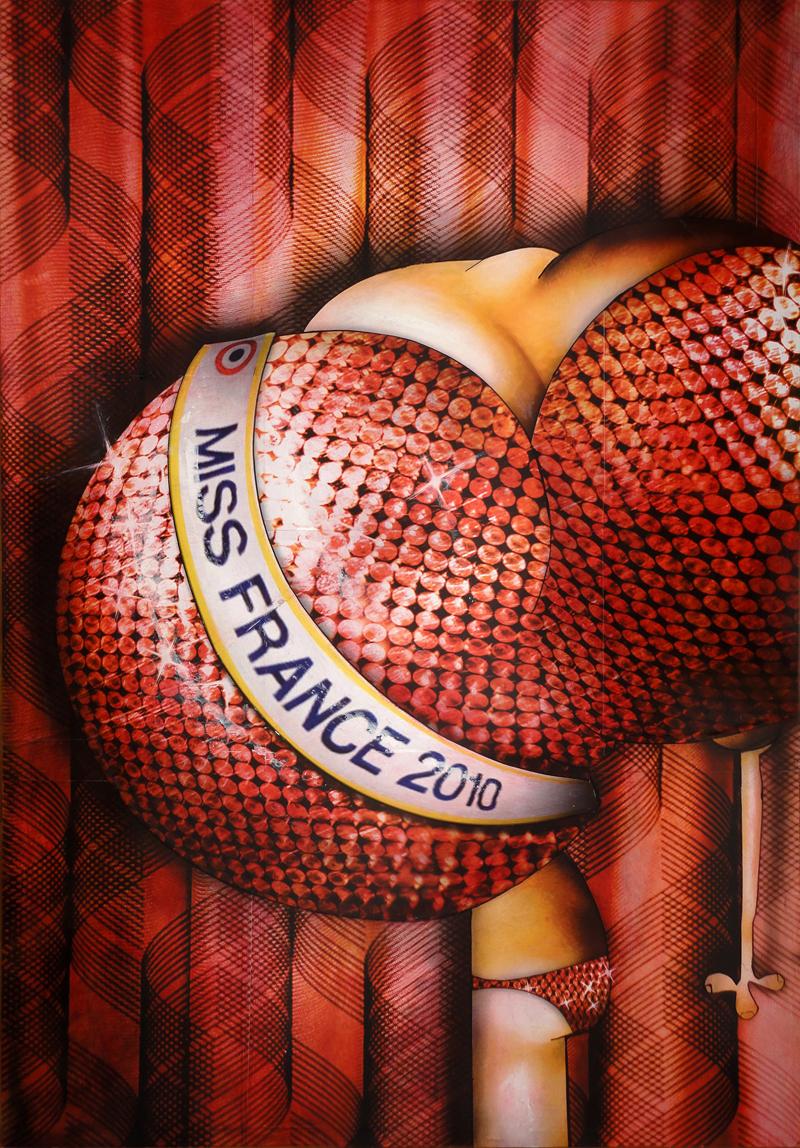 Peinture Miss France 2010