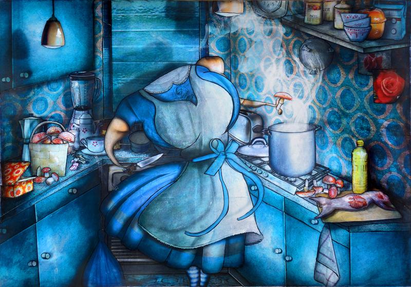 Peinture Alice