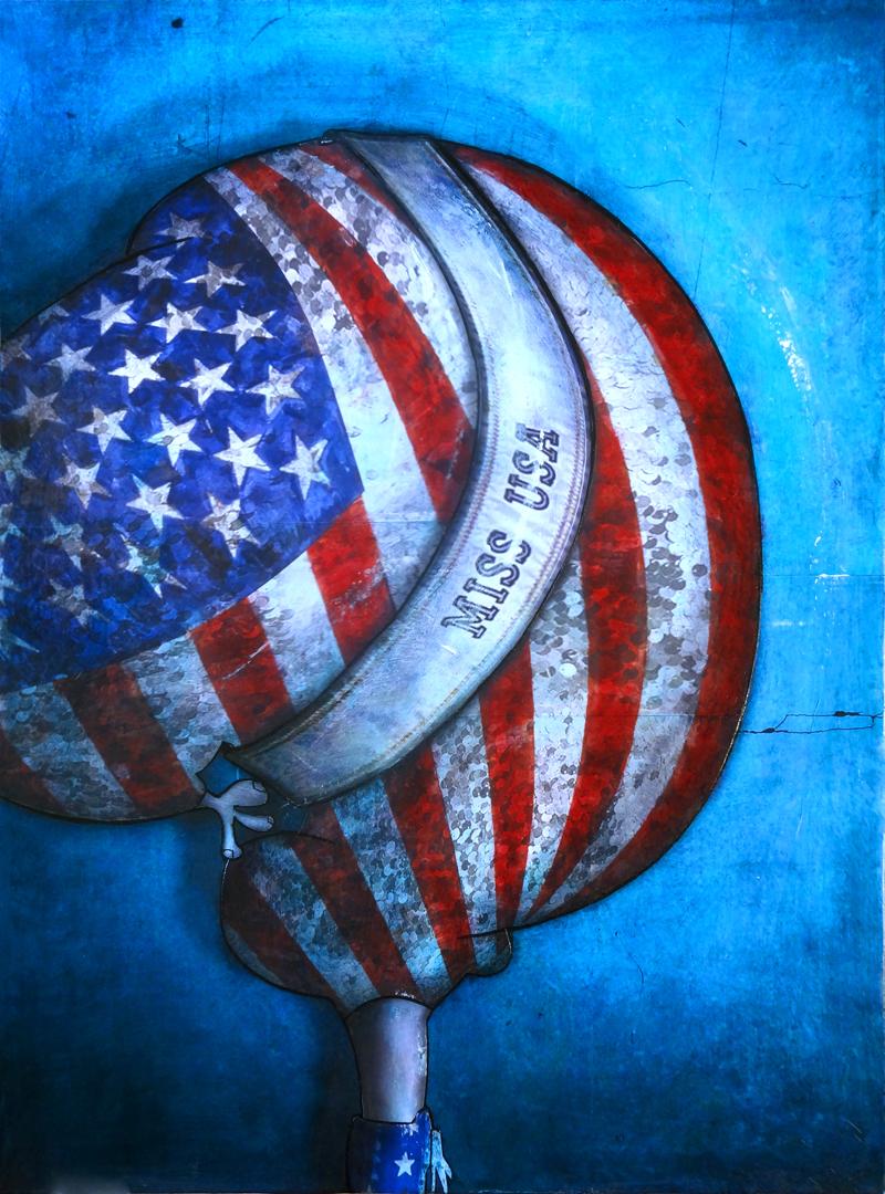 Peinture Miss USA 2012