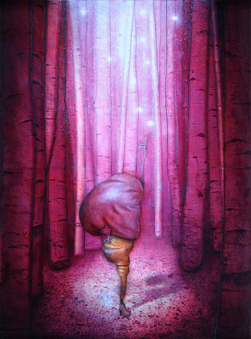 Peinture Forêt