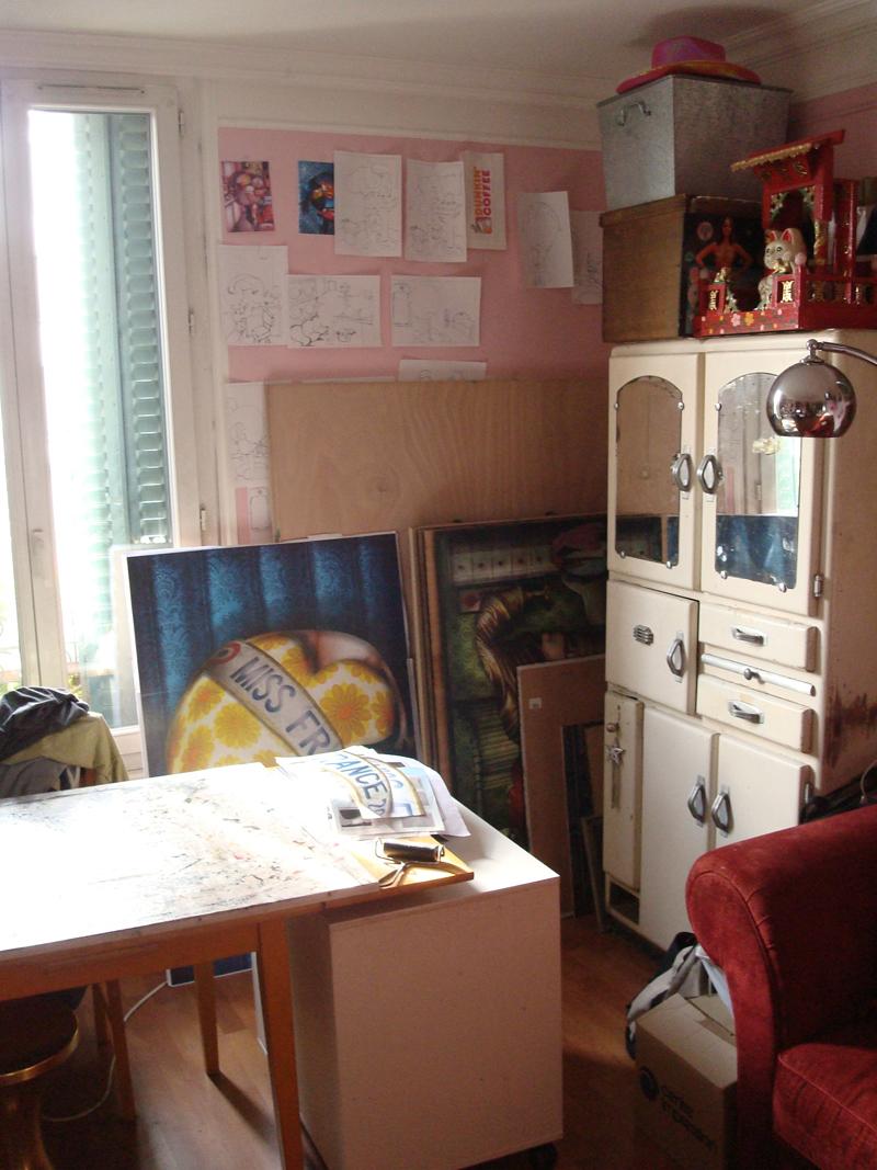 Photo du jour le 22-11-2009 du peintre contemporain Français Jérémie Baldocchi