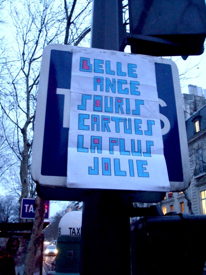 Photo du jour le 15-01-2010 du peintre contemporain Français Jérémie Baldocchi
