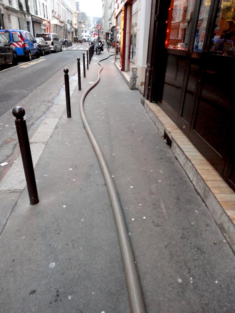 Seconde photo du jour le 23-12-2010 du peintre contemporain Français Jérémie Baldocchi