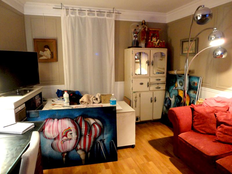 Photo du jour le 25-09-2011 du peintre contemporain Français Jérémie Baldocchi
