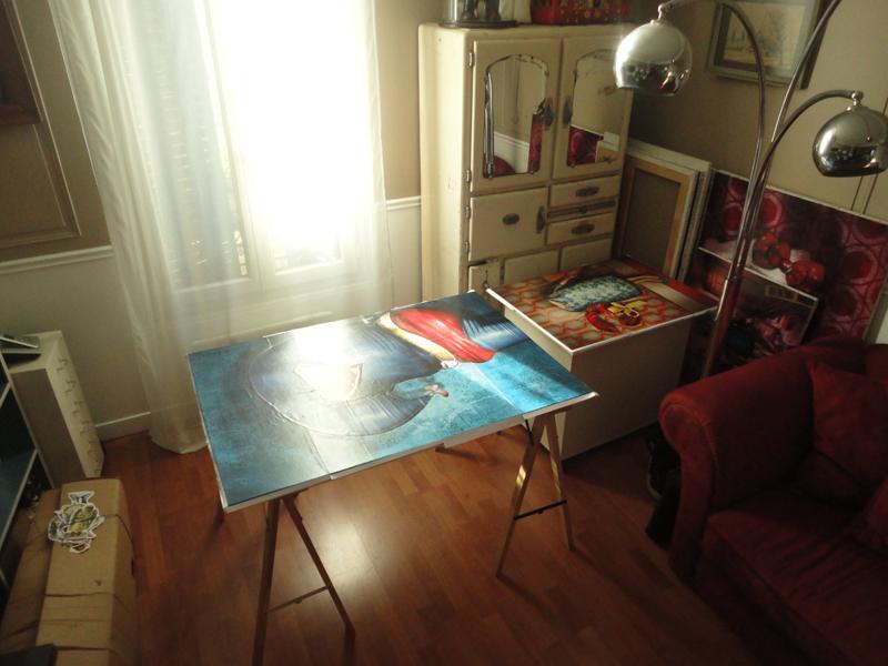 Photo du jour le 15-01-2012 du peintre contemporain Français Jeremie Baldocchi