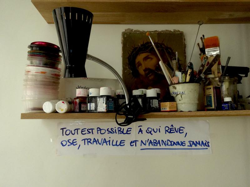Photo du jour le 18-10-2014 du peintre contemporain Français Jeremie Baldocchi
