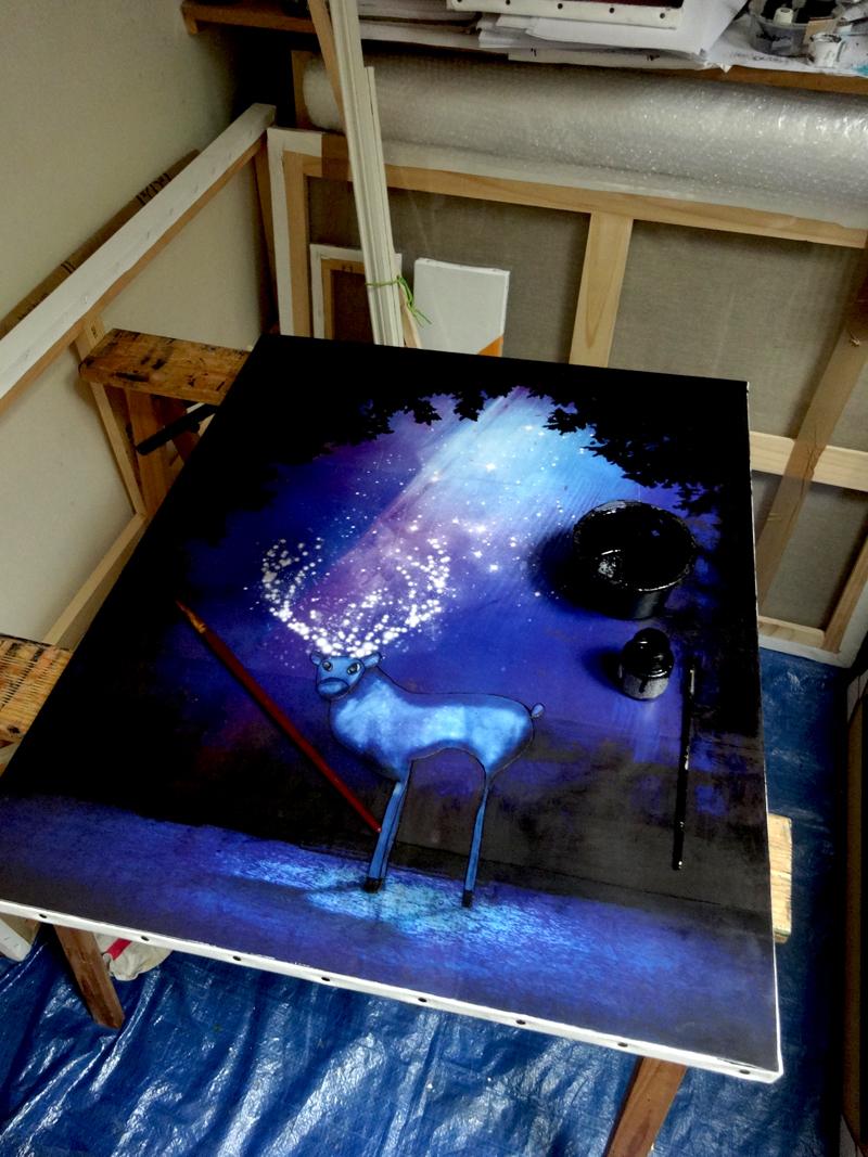 Photo du jour le 17-07-2015 du peintre contemporain Français Jérémie Baldocchi