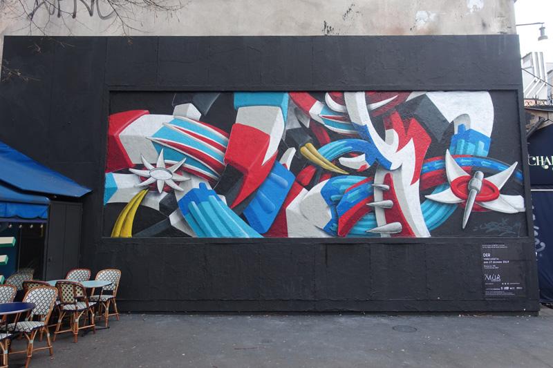 Photo du jour le 17-12-2019 du peintre contemporain Français Jérémie Baldocchi