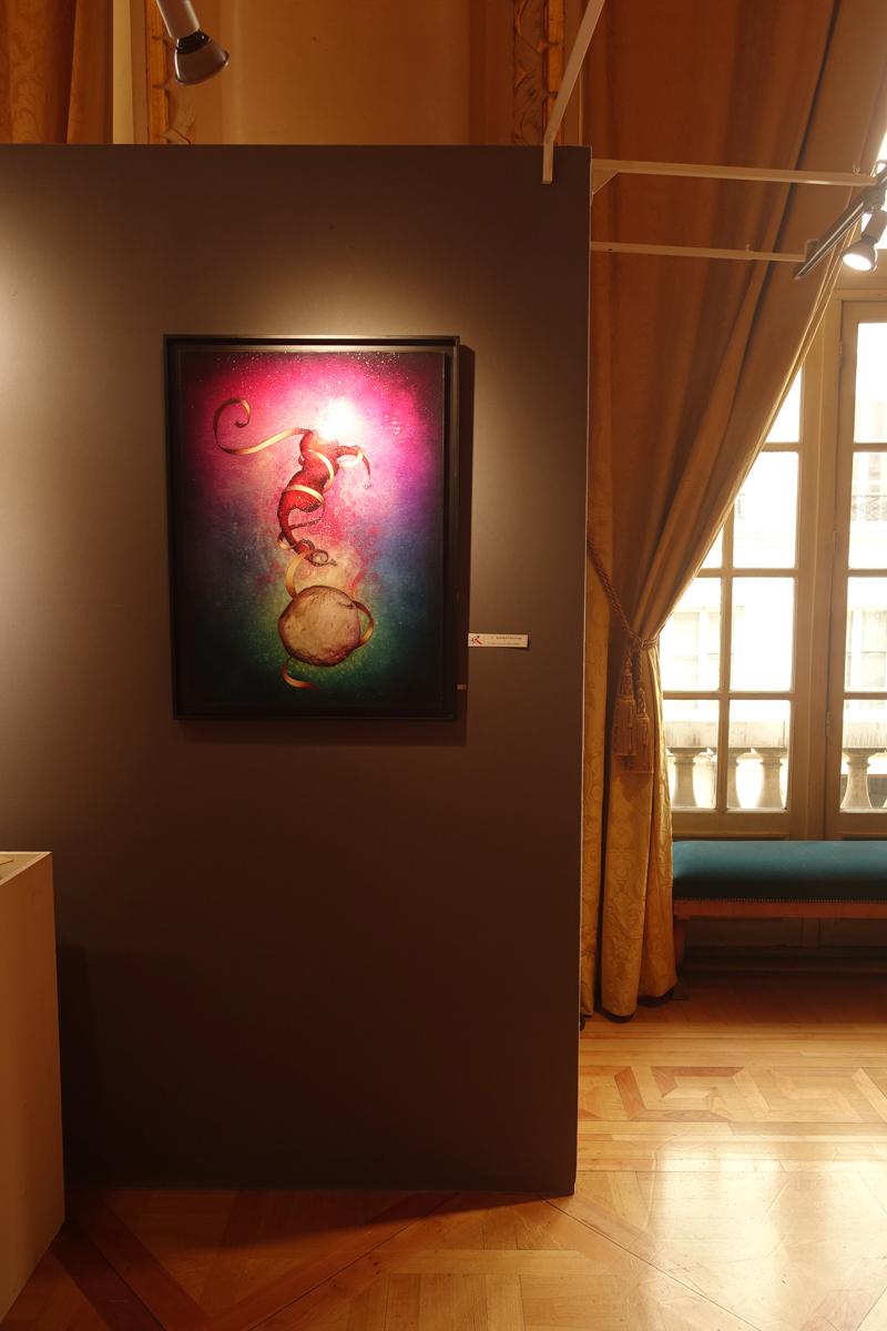 Photo du jour le 26-04-2019 du peintre contemporain Français Jérémie Baldocchi