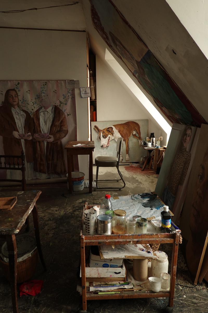 Photo du jour le 02-07-2020 du peintre contemporain Français Jérémie Baldocchi