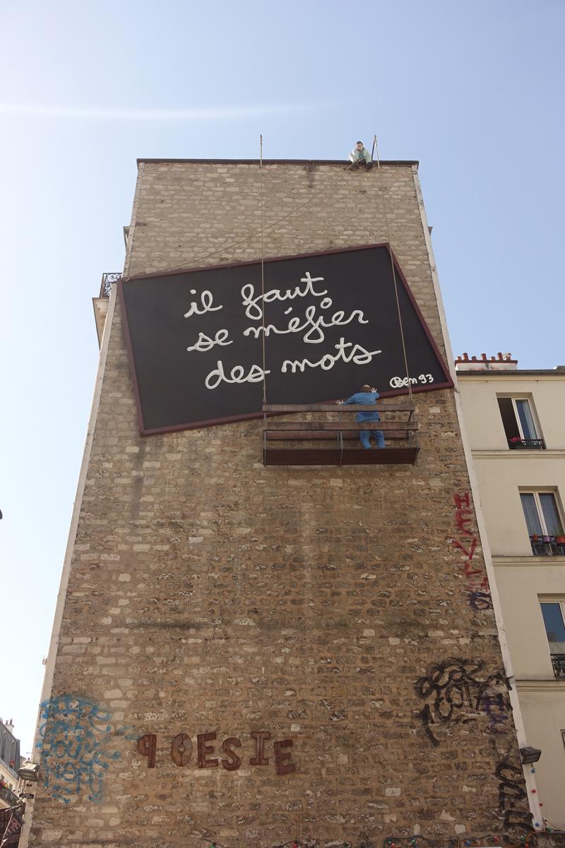 Photo du jour le 07-08-2020 du peintre contemporain Français Jérémie Baldocchi