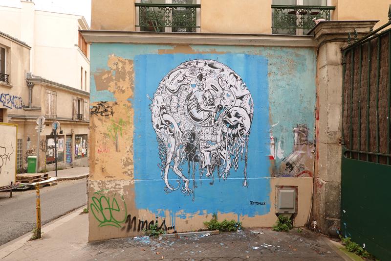 Photo du jour le 08-11-2020 du peintre contemporain Français Jérémie Baldocchi