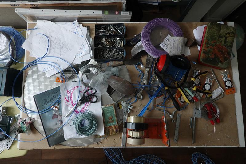Photo du jour le 15-09-2020 du peintre contemporain Français Jérémie Baldocchi