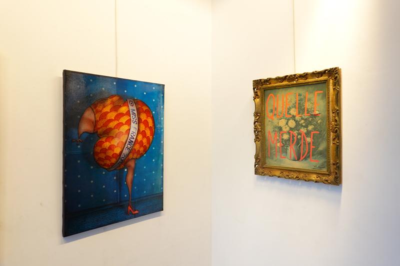 Photo du jour le 17-11-2020 du peintre contemporain Français Jérémie Baldocchi