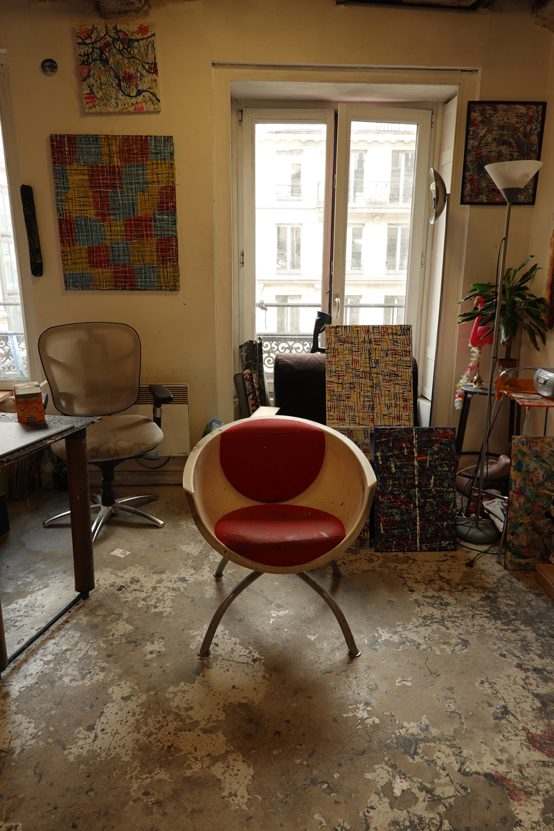 Photo du jour le 20-11-2020 du peintre contemporain Français Jérémie Baldocchi