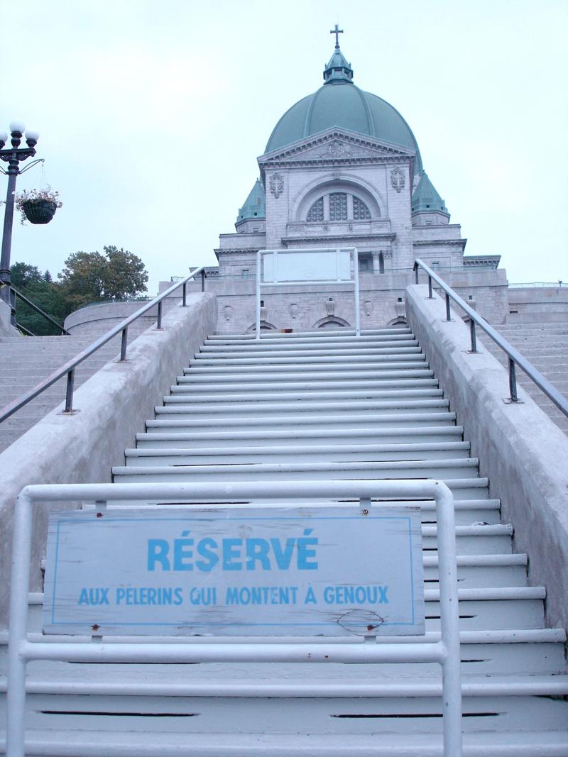 Mon voyage au Canada à Québec