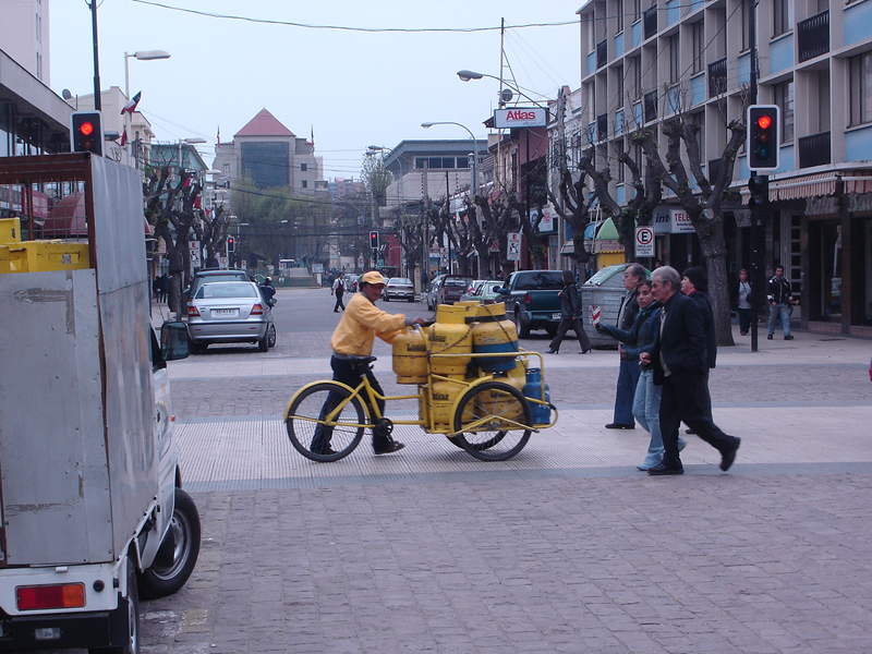 Mon voyage au Chili à Valparaiso