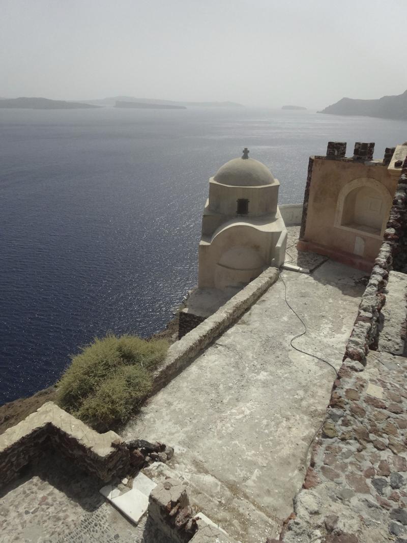 Mon voyage en Grèce - île de Santorin, Oia