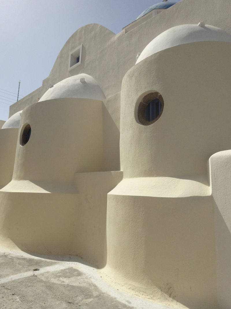 Mon voyage en Grèce - île de Santorin, Akrotiri